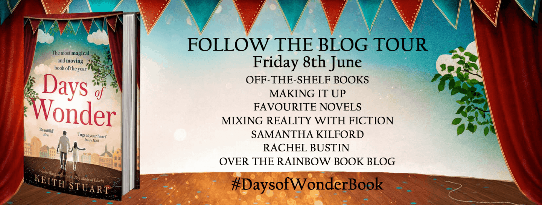 Friday twit card - blog tour - Days of Wonder
