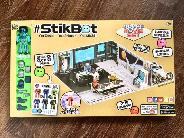 StikBot Space Movie Set Animation Studio Review