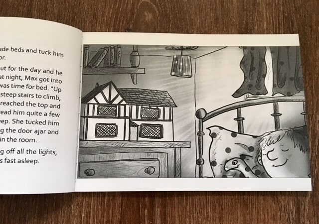 Max, Mouse and the Doll's House by Christine Johnson