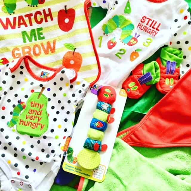 The Very Hungry Caterpillar Sainsbury's Babywear Range