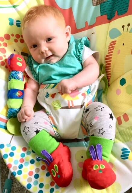 The Very Hungry Caterpillar babywear range from Sainsburys