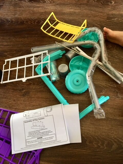 Real life fun and play with Casdon - shopping trolley