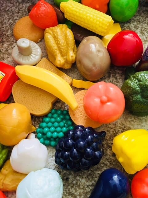 Real life fun and play with Casdon - play food
