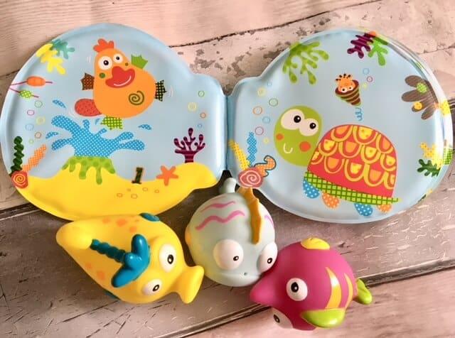 fun bath toys from Escabbo