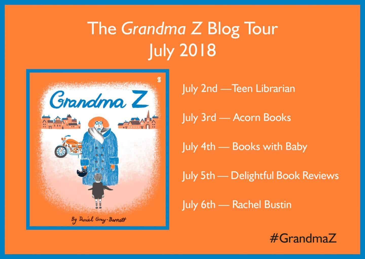 Grandma Z blog tour