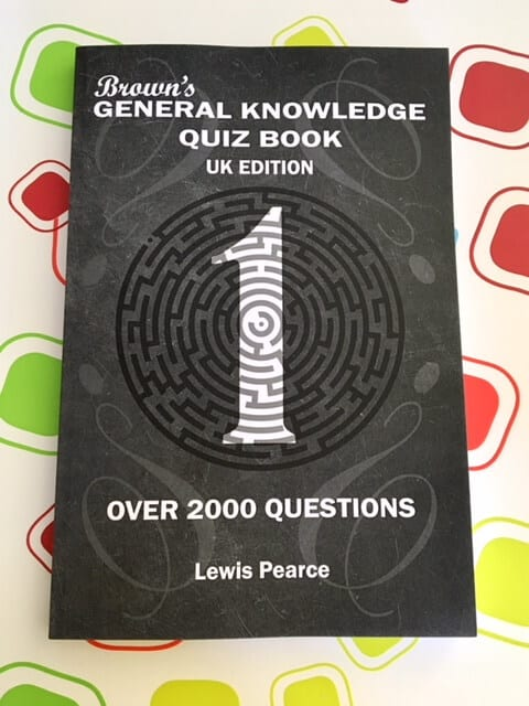Brown's General Knowledge Quiz Book Review and Giveaway
