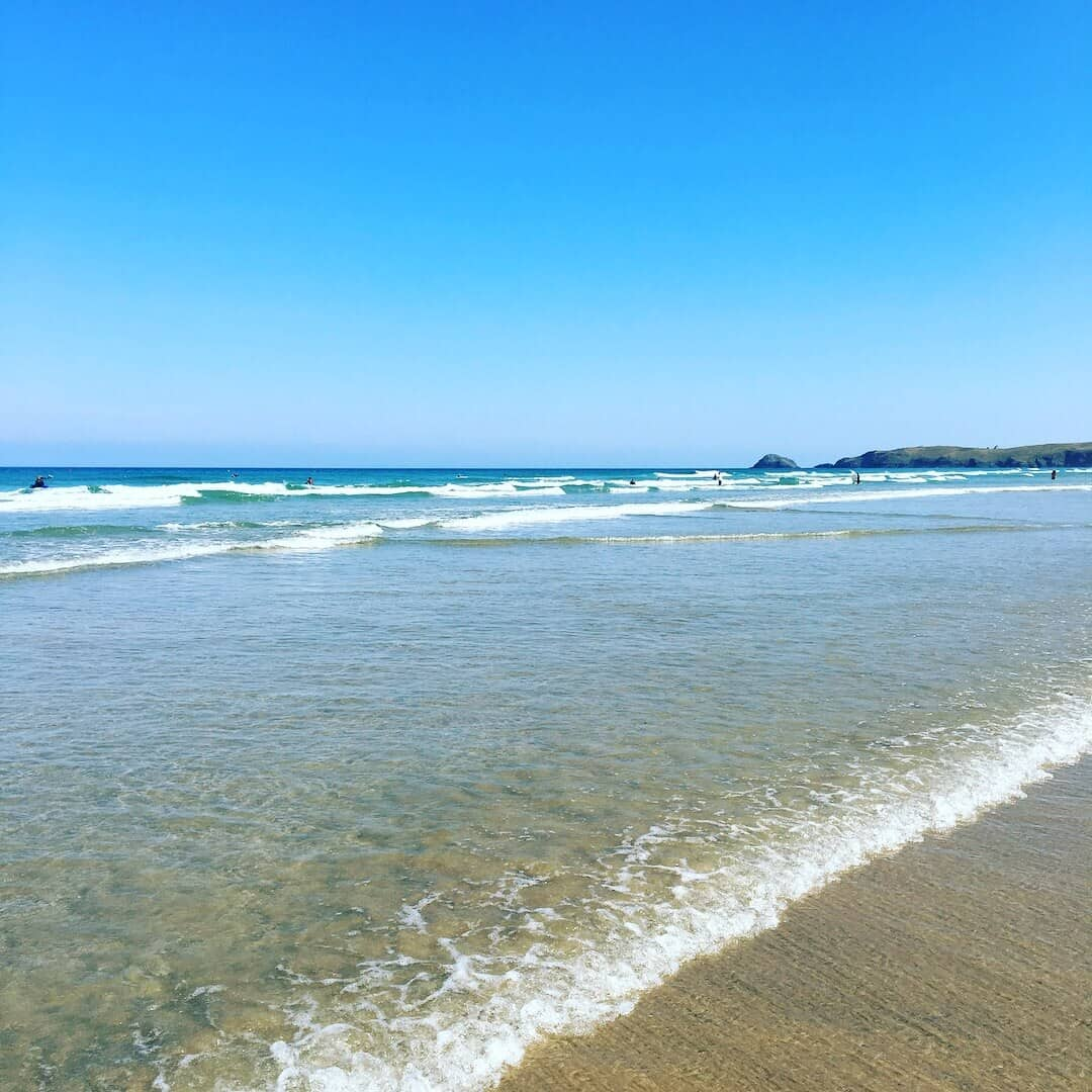 Child Friendly Holiday Destinations For New Parents - Perranporth Cornwall