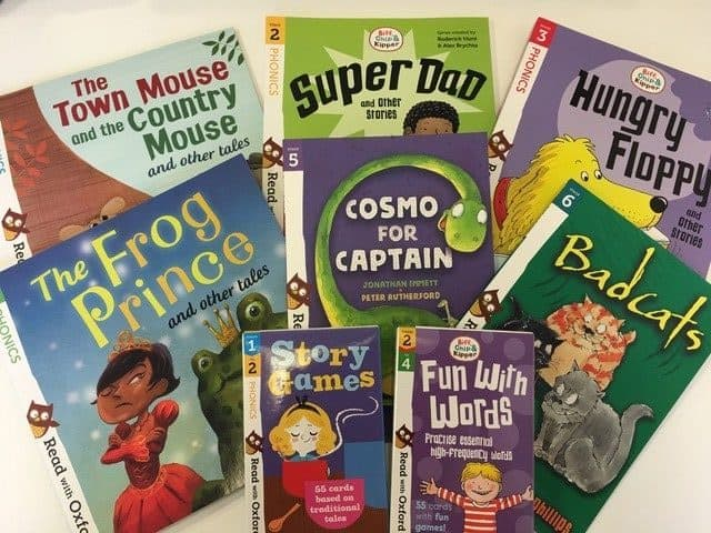 Win a Selection of Reading and Activity Books from Oxford University Press