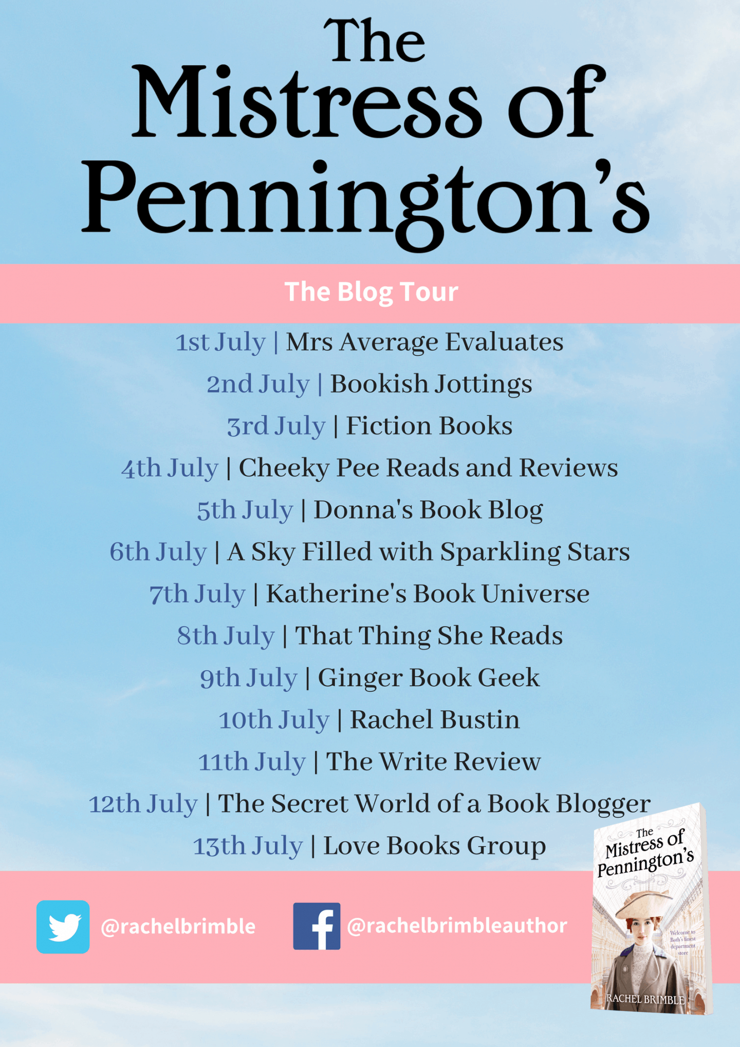 Rachel Brimble – The Mistress of Pennington's