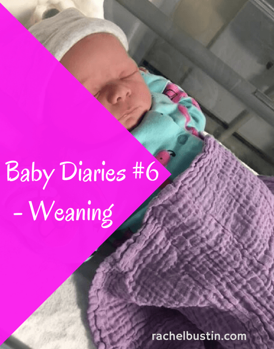 Baby Diaries #6 – Starting the Weaning Journey