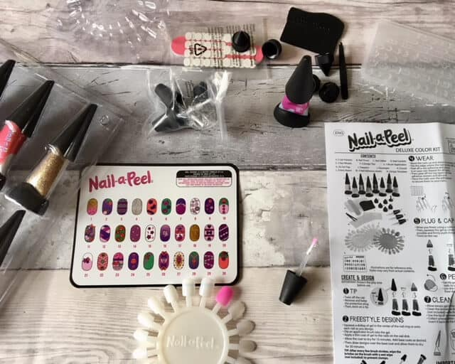 Nail-A-Peel Deluxe Color Kit Review