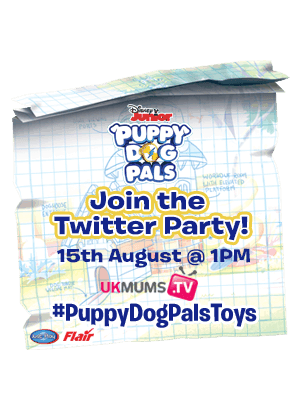 Twitter party #Puppydogpals