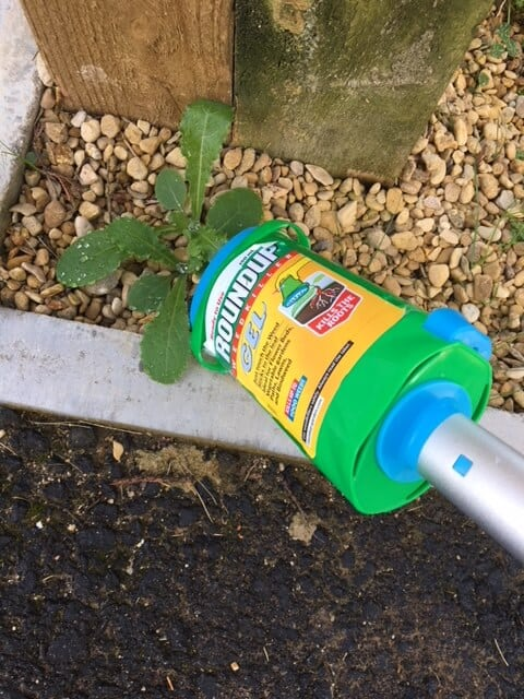 Roundup Telescopic Wand with Total Gel.