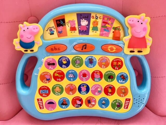 Peppa's Laugh and Learn Alphaphonics Review