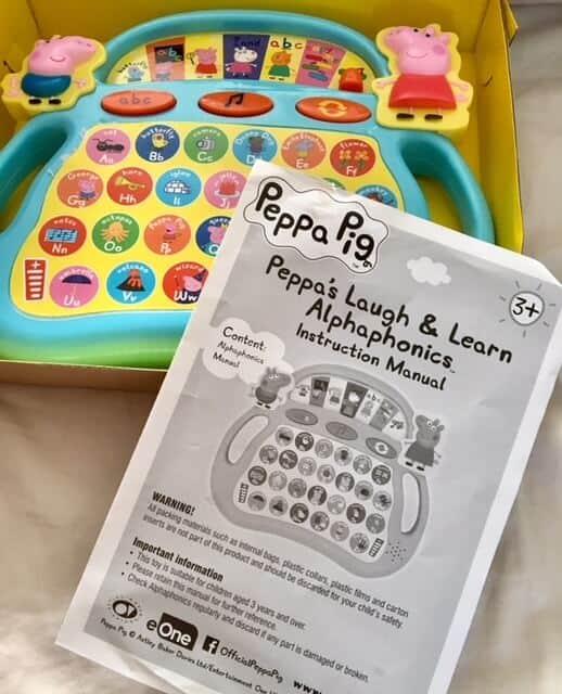 Peppa's Laugh and Learn Alphaphonics