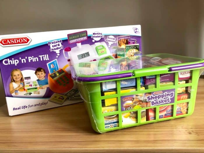 Casdon Chip 'n' Pin Till and Shopping Basket Review