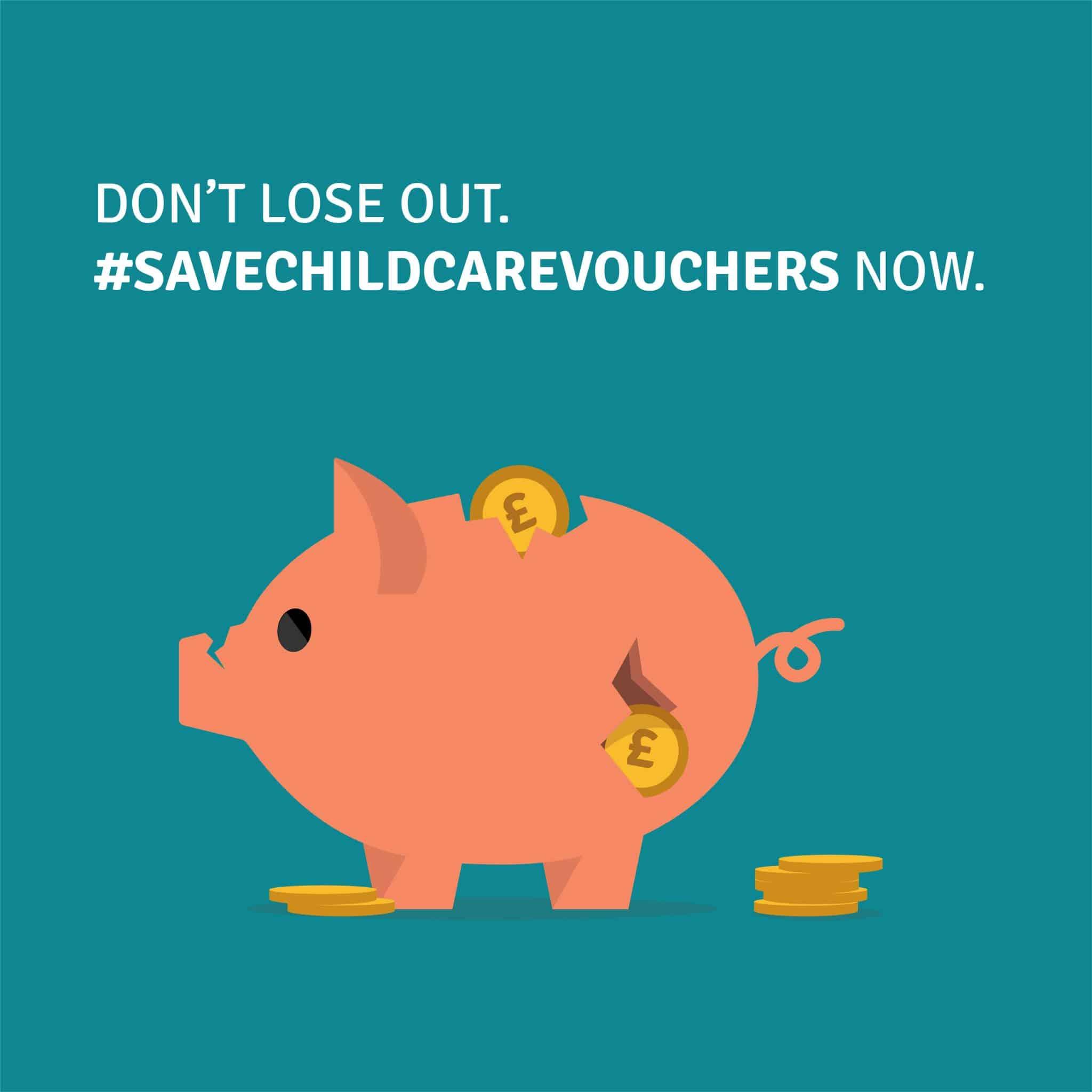 #SaveChildcareVouchers