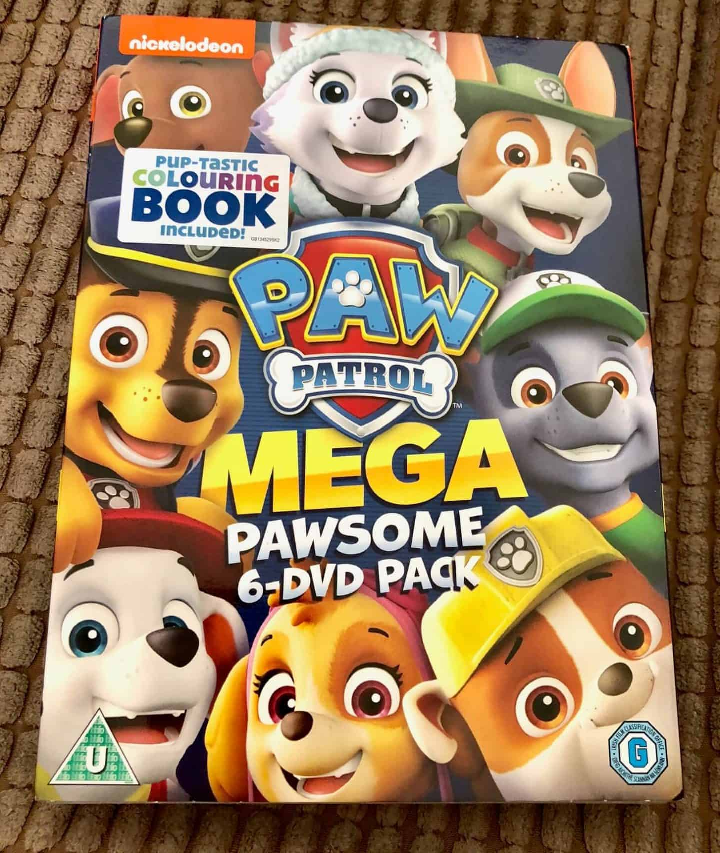 Megapawesome Pack (6-Title Boxset includes Colouring Book)