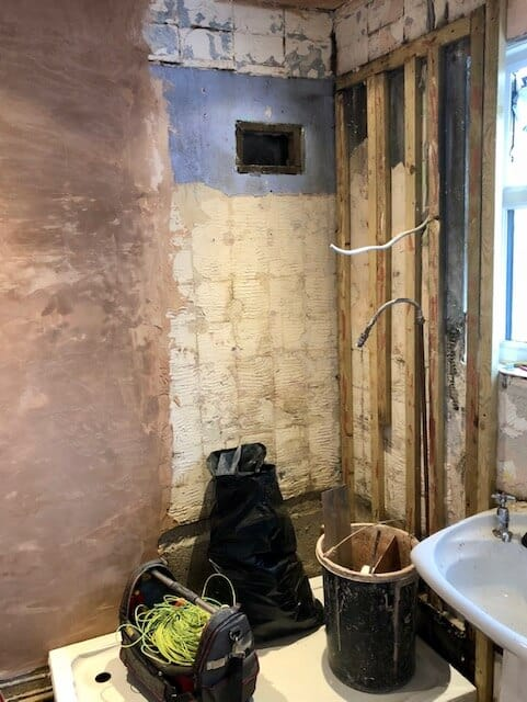 A Miner's Cottage Renovation Project Part 3 - bathroom renovations