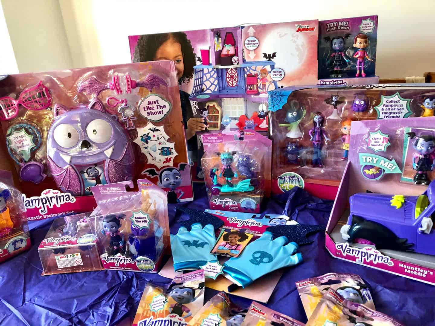 Vampirina Toy Collection Review