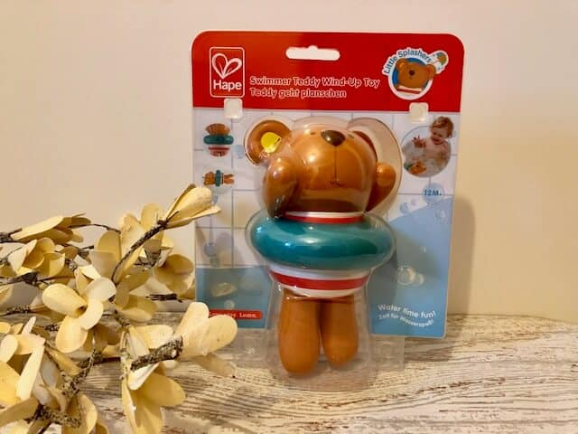 Hape Wind up teddy