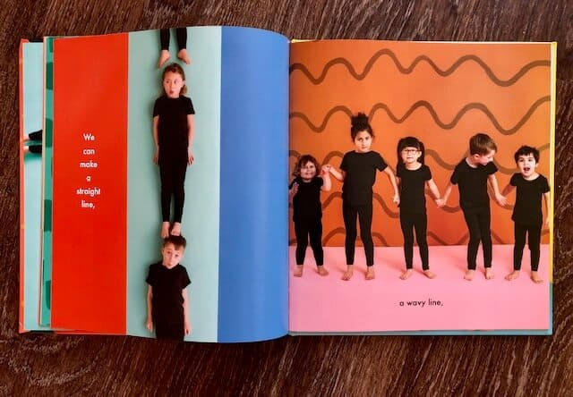 A photographic picture book about a diverse group of children using their bodies to make sense of shapes in a playful way.