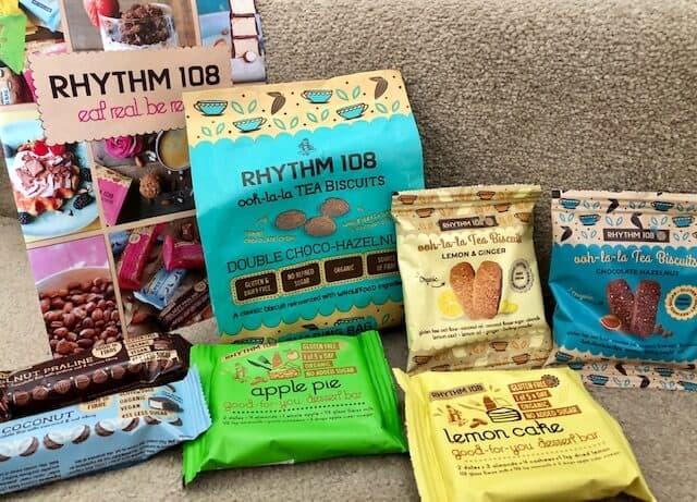 Rhythm 108 - organic, dairy free, vegan, gluten free