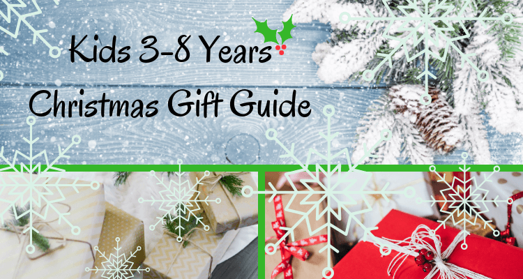 Kids 3-8 Years Christmas Gift Guide