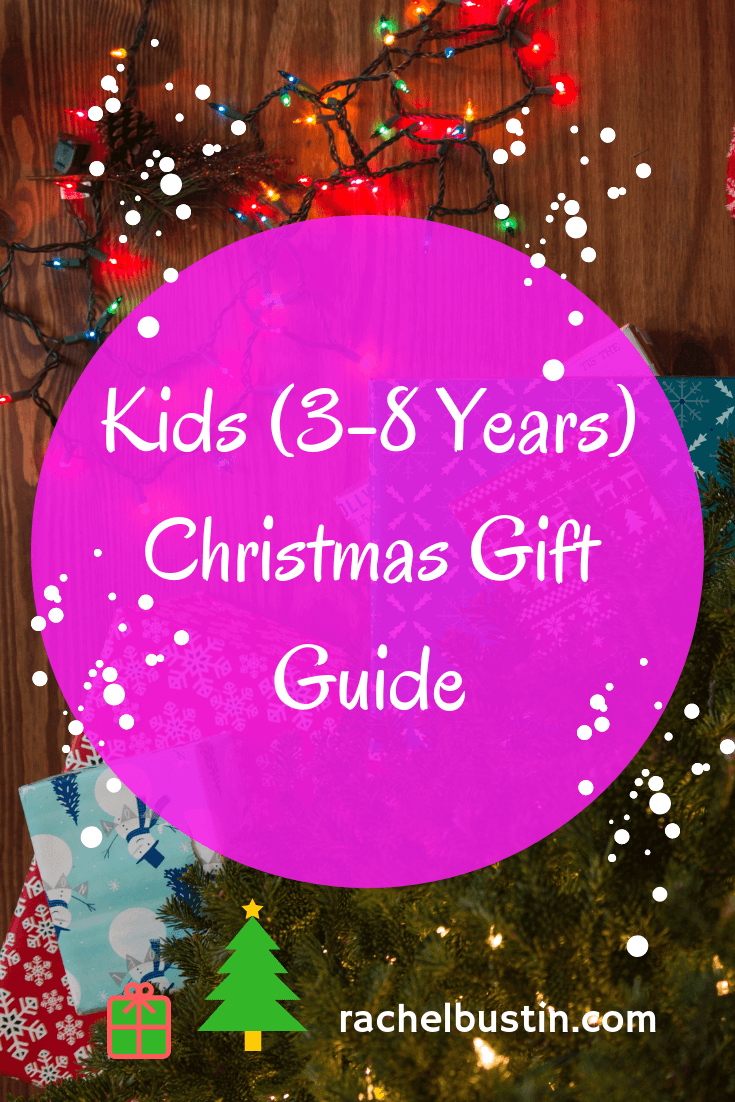 Kids (3-8 years) Christmas Gift Guide, kids Christmas gift ideas, Christmas presents kids see more at rachelbustin.com