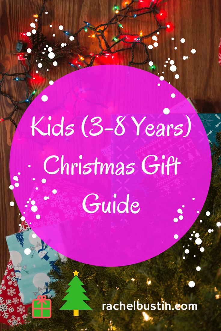 Kids (3-8 years) Christmas Gift Guide, kids Christmas gift ideas, Christmas presents kids see more at rachelbustin.com