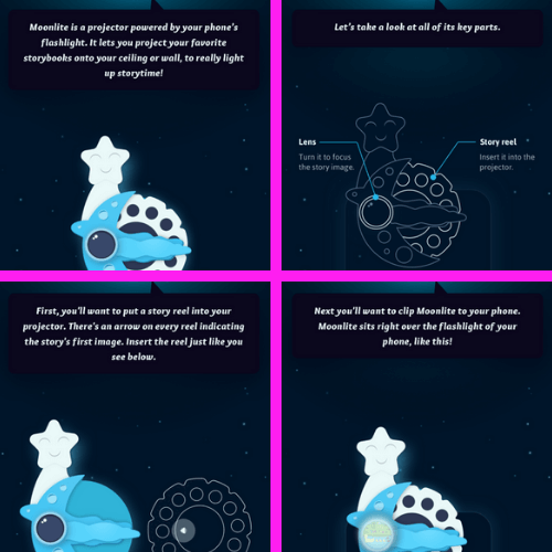 Moonlite Children's Story Book Projector Review (1)