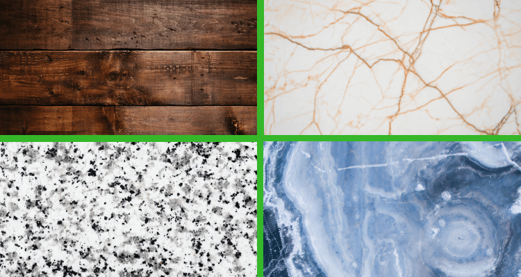 Top Trends in Kitchen Design 2019 - countertop designs and materials
