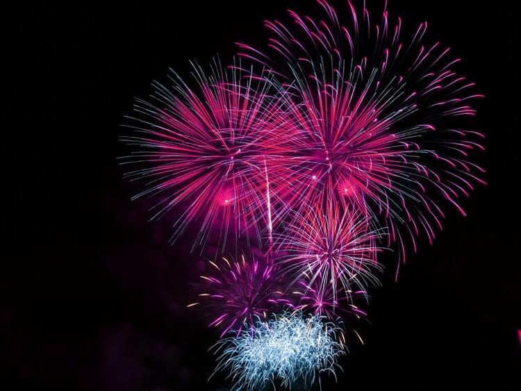 fireworks at bonfire night