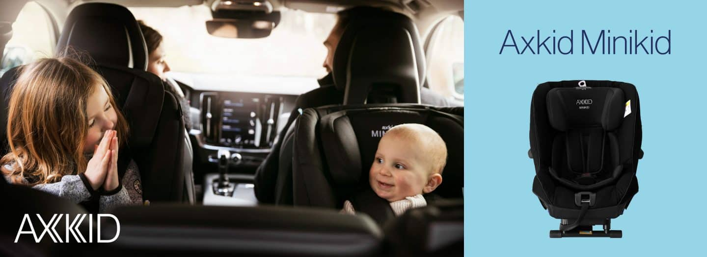Win an Axkid Minikid Rear-Facing Car Seat