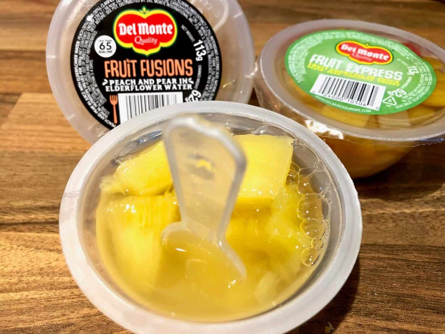 Fruit ExpressandFruit Fusions From Del Monte