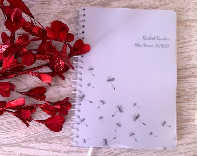 TOAD Diaries Personalised Planners As a blogger, I need to be organised. What helps me keep organised is a planner
