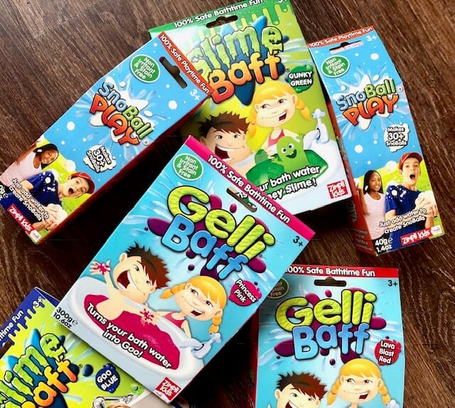 Gelli Baff and Slime Baff