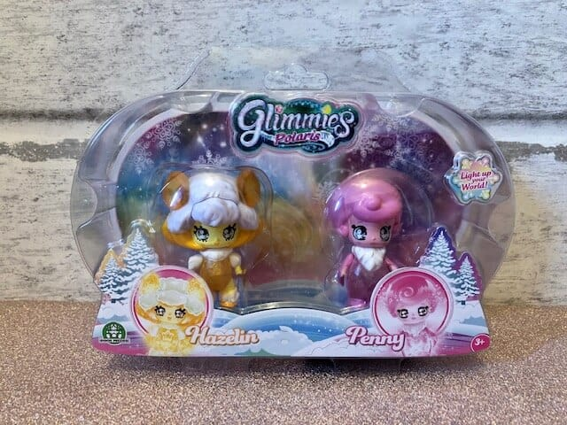 Discovering Glimmies Polaris - Light-Up Your World. twin pack