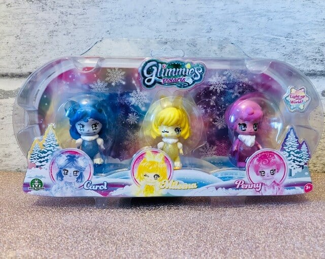 Discovering Glimmies Polaris - Light-Up Your World. - triple pack
