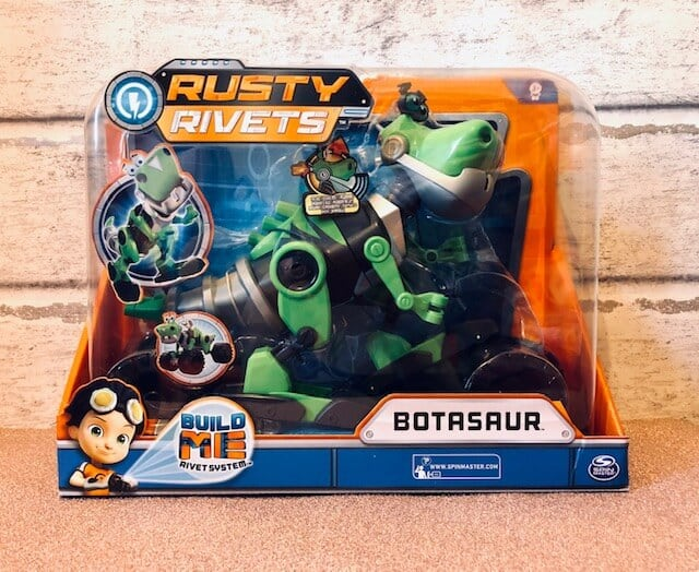 Rusty Rivets – Botasaur Buildable Figure with Lights and Sounds