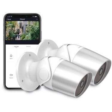 Oscar outdoor home security camera