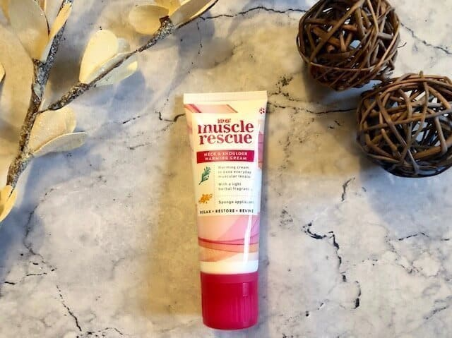 Deep Heat Muscle Rescue warming cream