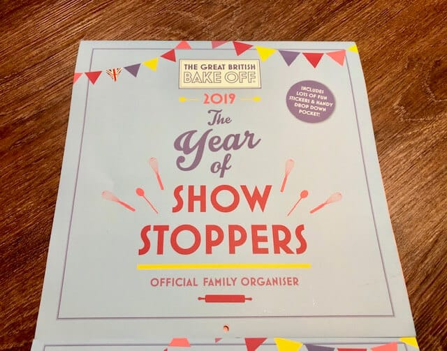 The Year of the Show Stoppers family organiser 2019