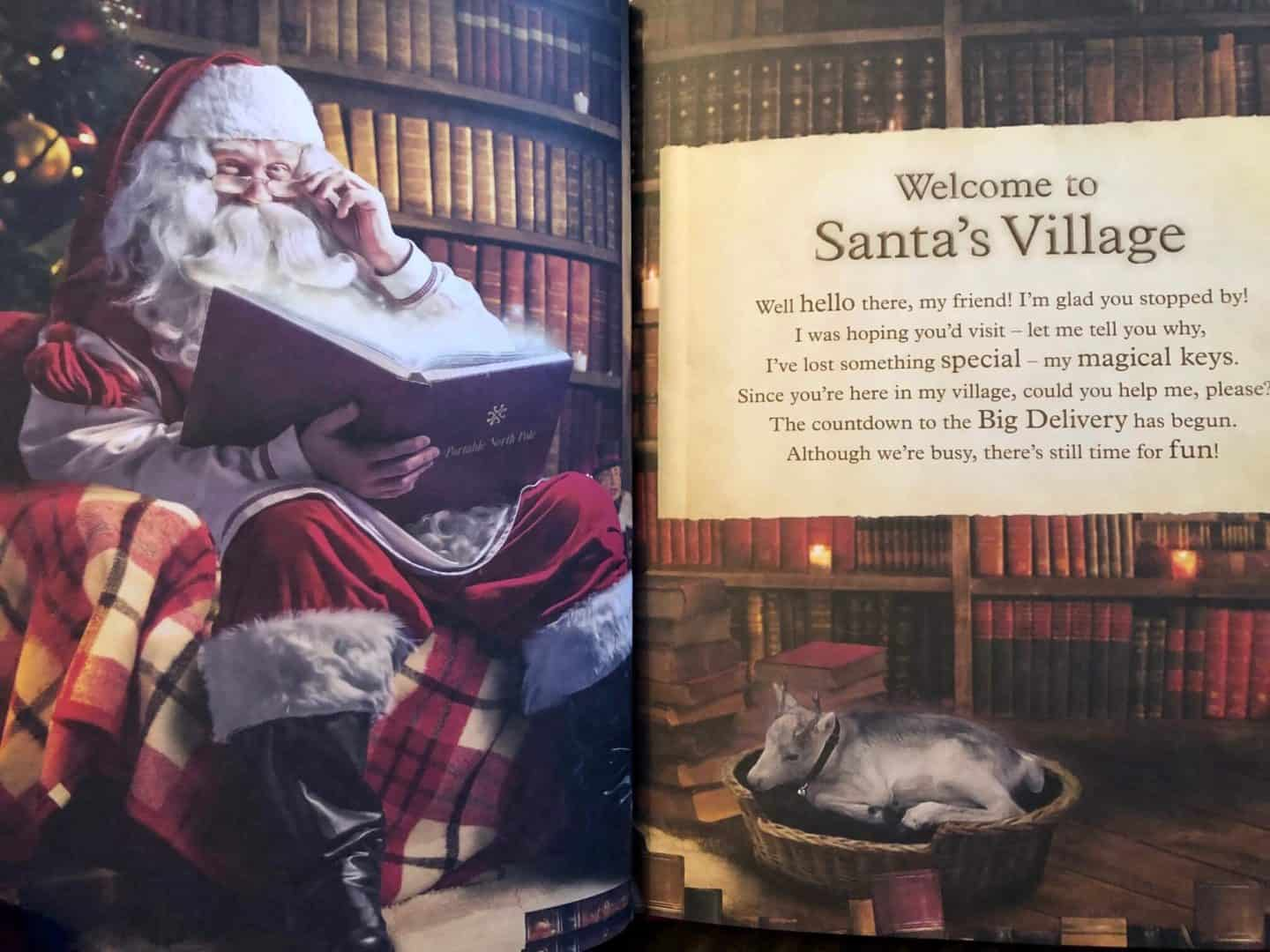 Video Calling Santa Claus with Portable North Pole (PNP) - Story book