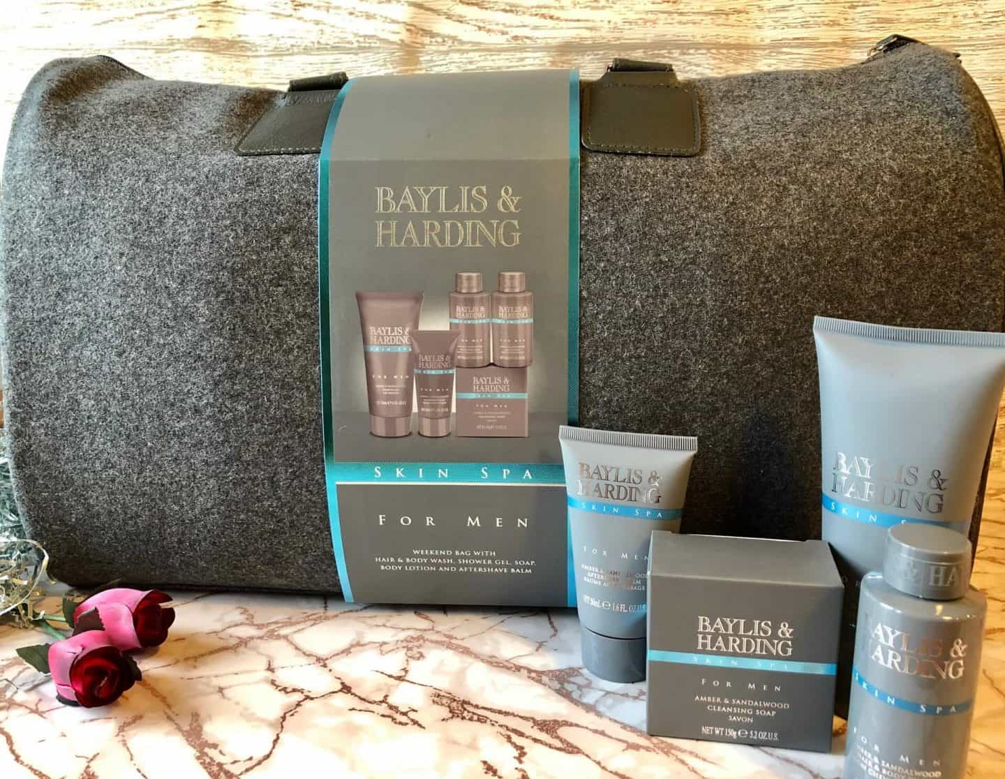 Baylis & Harding Skin spa men's weekend bag