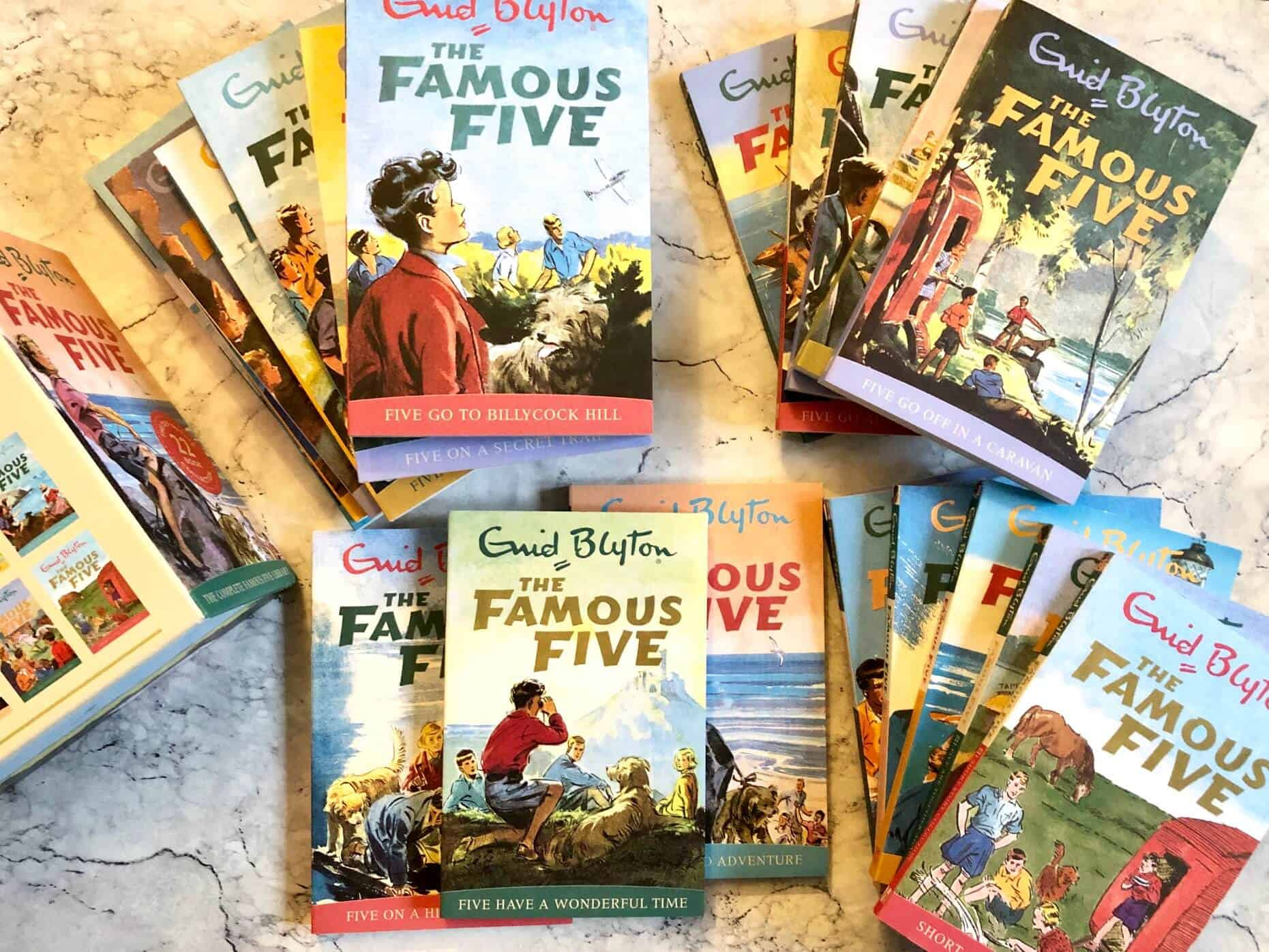 Enid Blyton Books - The Famous Five collection