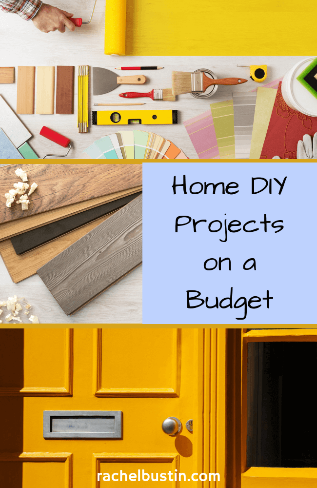 Home DIY Projects on a Budget - This post is all about making the biggest impact in your home on a small budget. Home decor DIY ideas, Home DIY on a budget, Home diy decor, room makeovers, small spaces, renovation, kitchen, flooring, garden, updating lighting #homediy #homediyonabudget - see more at rachelbustin.com
