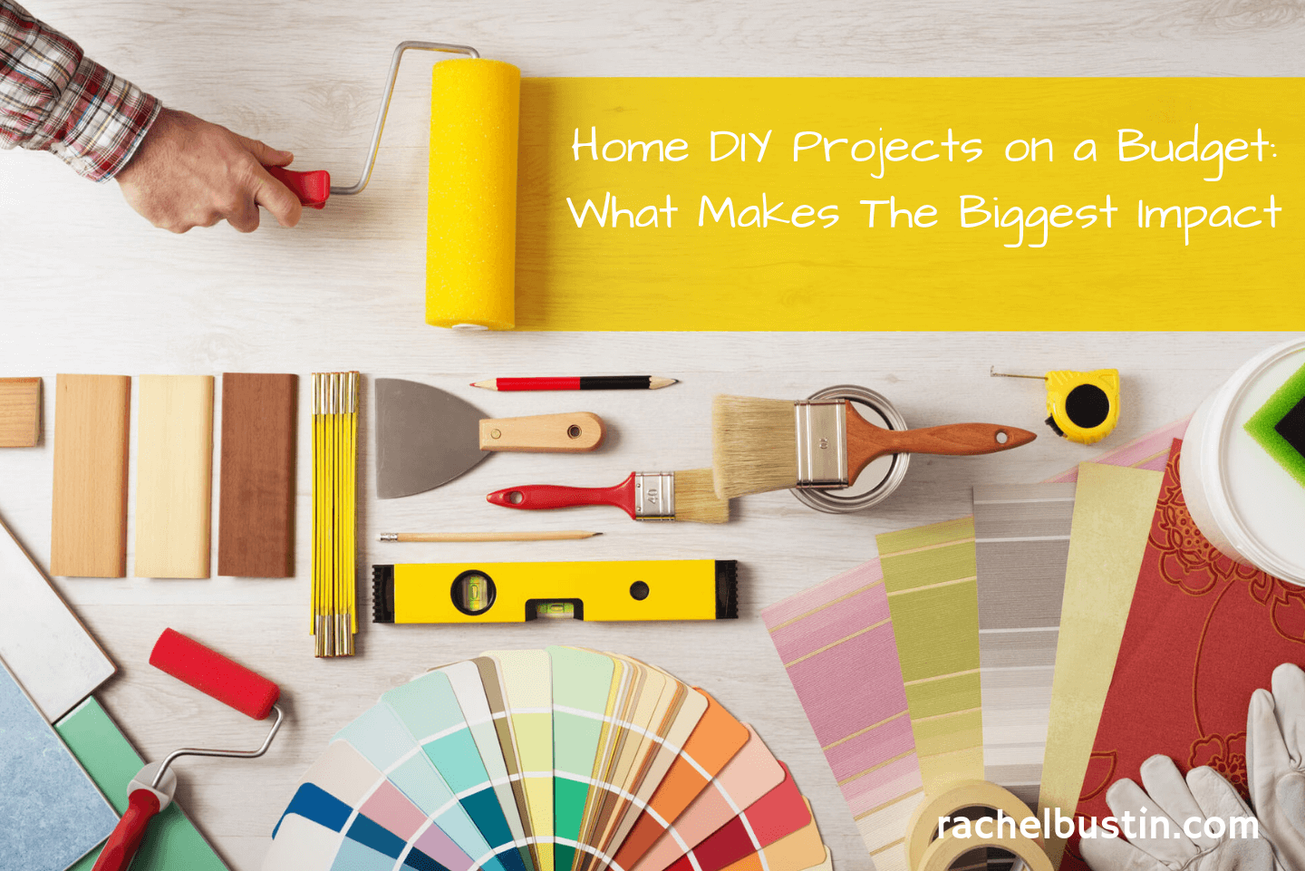 Home DIY Projects on a Budget - What Makes The Biggest Impact - Home DIY on a budget, Home diy decor, room makeovers, small spaces, renovation, kitchen, flooring, garden, updating lighting #homediy #homediyonabudget - see more at rachelbustin.com