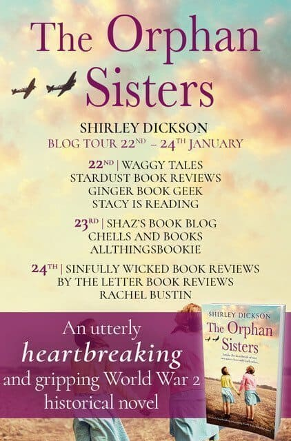 blog tour for The Orphan Girls by Shirley Dickson.