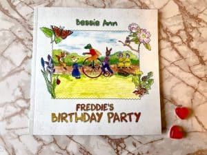 Book Review Freddie's Birthday Party by Bessie Ann
